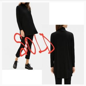 Sold sold Black Long Sleeve Turtle Neck Tunic